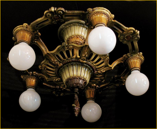 Antique lighting near victoria bc vancouver island showroom coming title antique lighting wisconsin description five light markel light fixture from harris house aloadofball Gallery