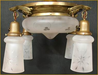 Antique Ceiling Fixtures From Harris House Antique Lighting Near Halifax NS