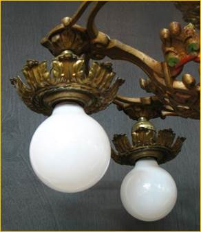 Antique Ceiling Fixtures From Harris House Antique
